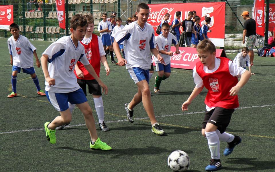 """Големият финал на """"Купата на Coca-Cola"""" – тази неделя в Русе"""