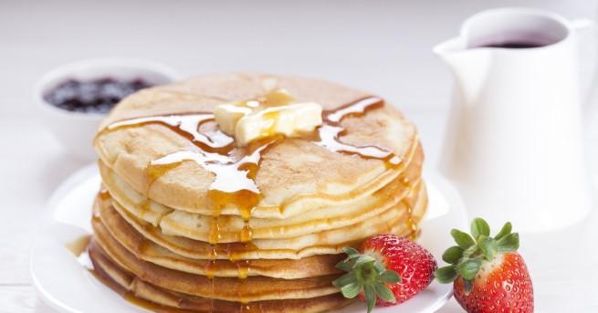 Палачинките са най-добрата идея за закуска през уикенда, в идеалния