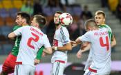 Беларус - България 2:1<strong> източник: LAP.bg, Владимир Стоянов</strong>