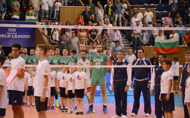 Националният тим по волейбол на България<strong> източник: LAP.bg</strong>