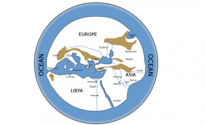 ace23c7c41a Стари карти на света ни разкриват представата за него през вековете ...