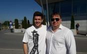 Буш отново в София: Щастлив съм, че ще играя в Левски