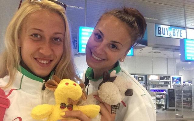 Симона Николова и Йоана Николова<strong> източник: volleymaritza.bg</strong>