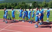 Левски с първа тренировка в Парвец
