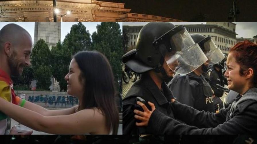 Снимка с история: Какво се случи с полицая и момичето