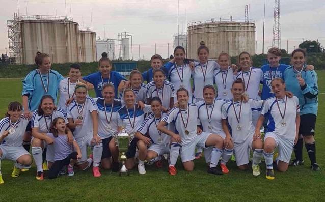 НСА София с трофея от Купата на България<strong> източник: НСА</strong>