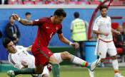 Роналдо и ко на два пъти изпуснаха аванс за реми с Мексико