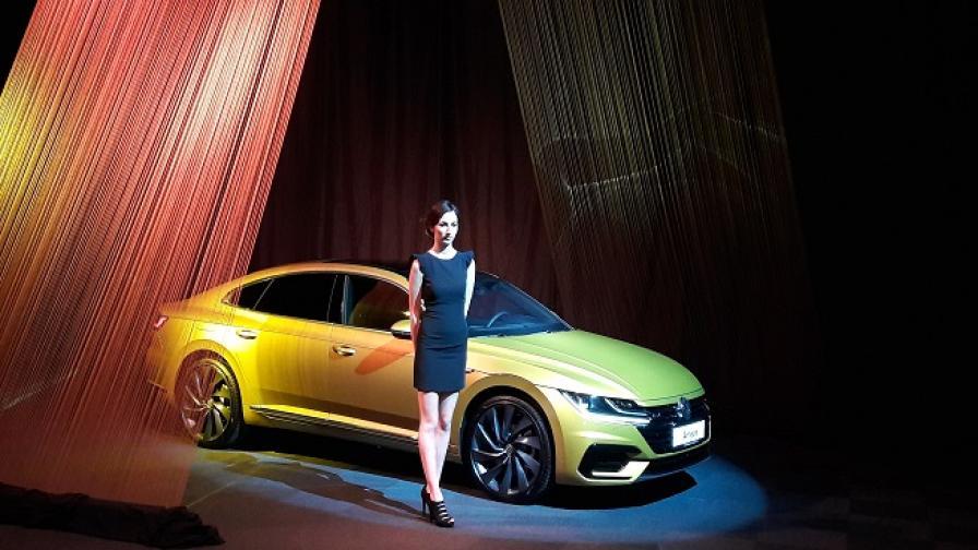 Arteon - най-красивият Volkswagen е в България