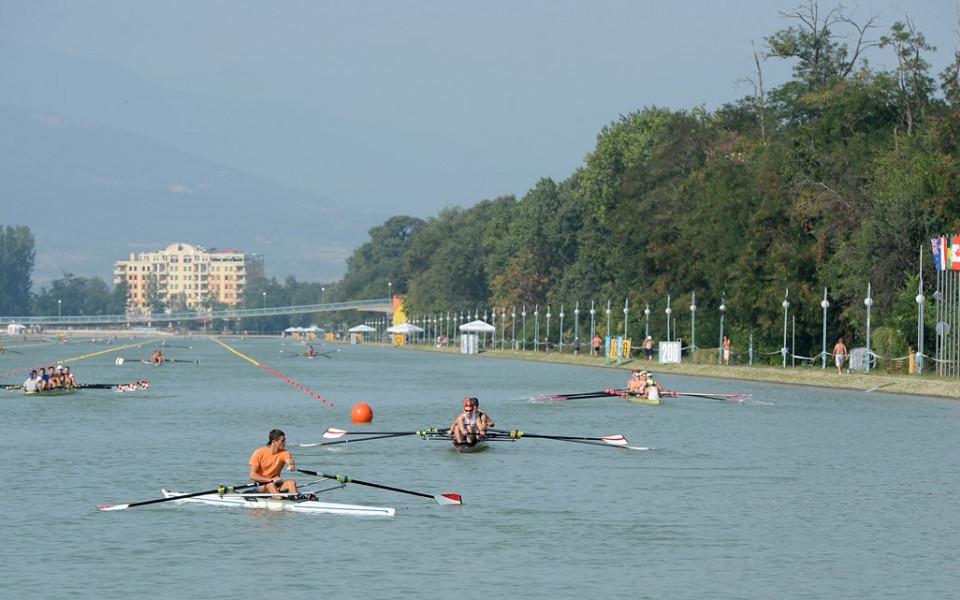 За 10 часа преобразяват канала в Пловдив от трасе за кану-каяк в такова за гребане
