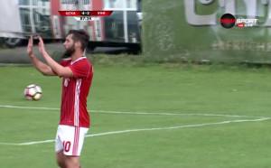 Симао заби четвърти гол във вратата на Крайова