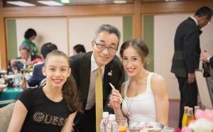 Официален прием в чест на грациите и посланика ни в Япония