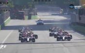 На живо: И стартът в Баку с инцидент, Ферстапен отпадна