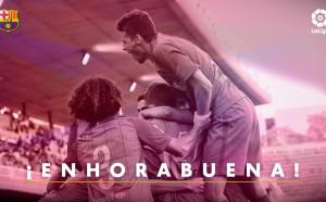 Радост в Барселона, Б-отборът се върна в Сегунда