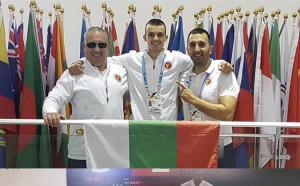 Първи медал за България от Световното по таекуондо