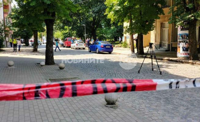 Мъж се простреля в главата в центъра на София