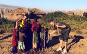 Френски национал на меден месец в Африка