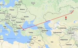 4386 километра делят Дунав от европейската сцена