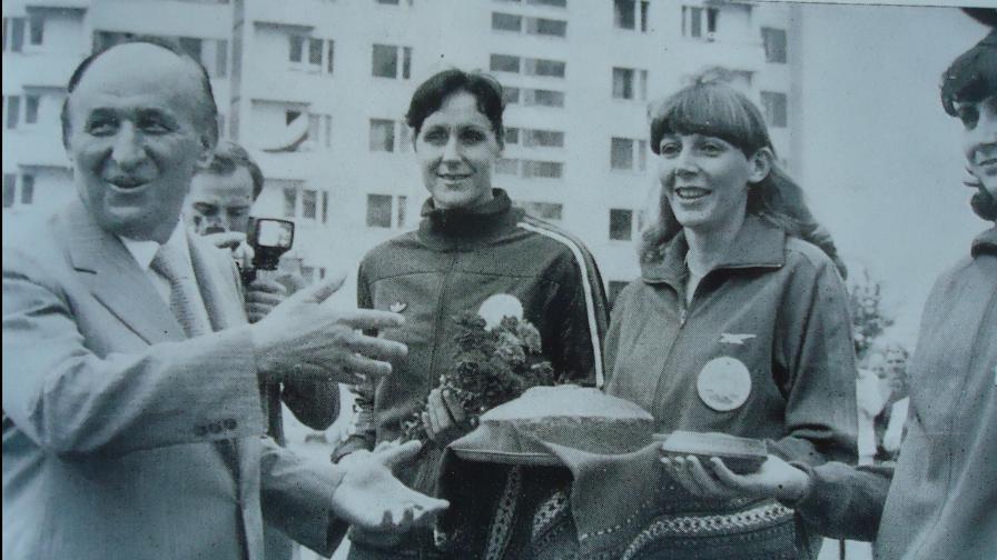 Тодор Живков сред спортисти