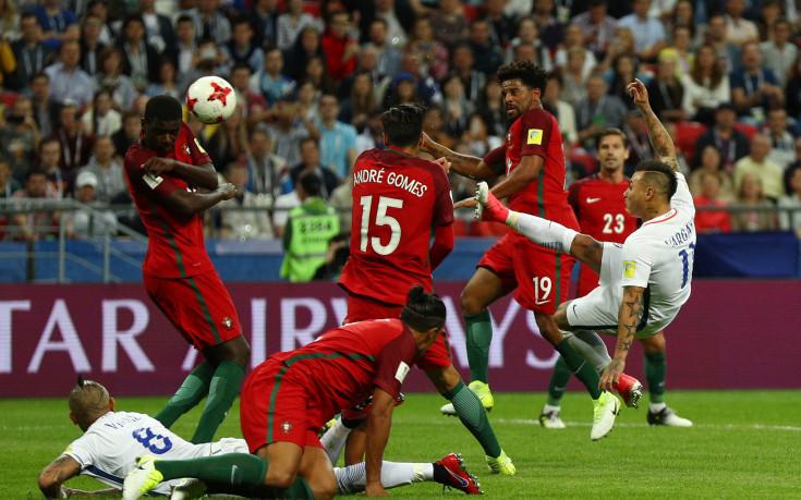 Браво разплака европейския шампион, Чили заслужи финал
