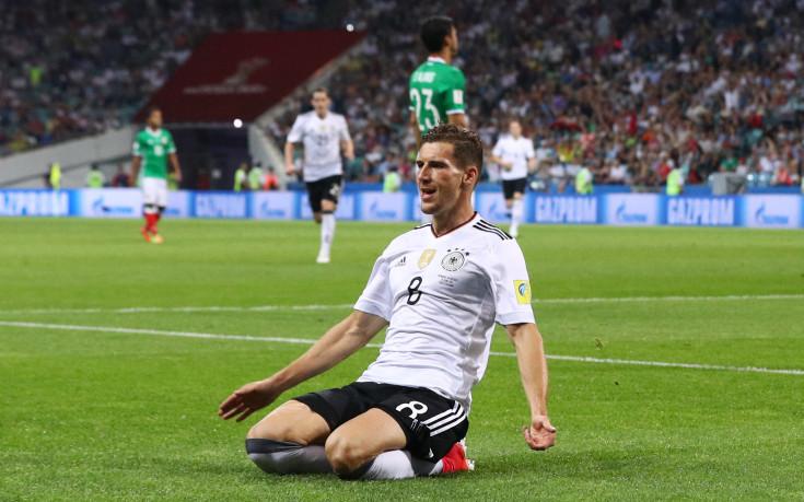 Германия на финал, Горецка развинти Мексико