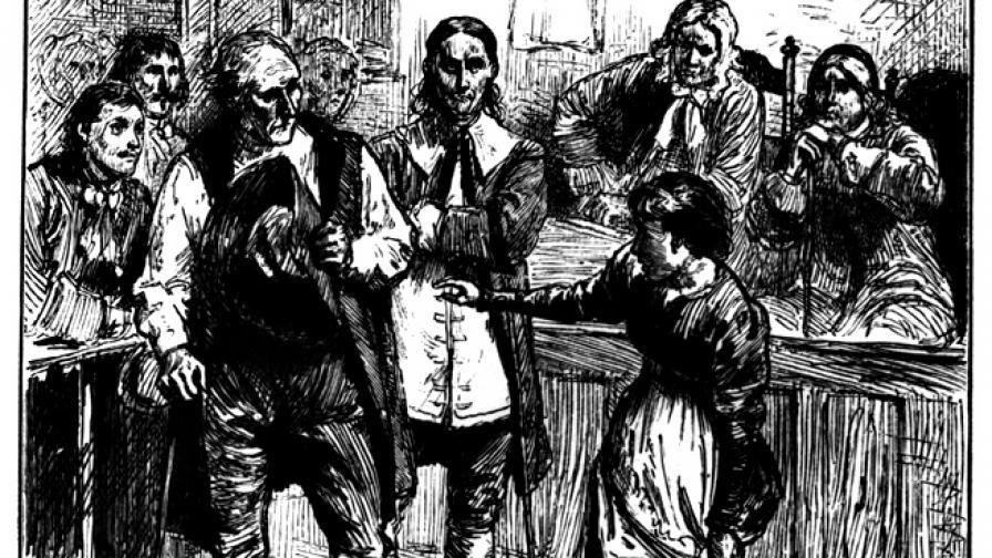 Вижте показанията, обрекли на смърт една вещица в Салем