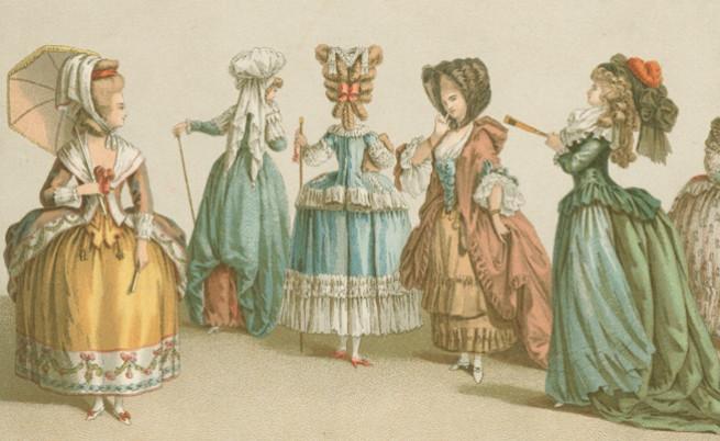 Как изглеждат французойките по време на управлението на Луи XVI