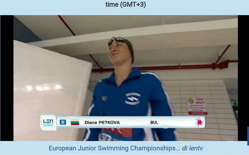 Диана Петкова изравни рекорд на Нина Рангелова