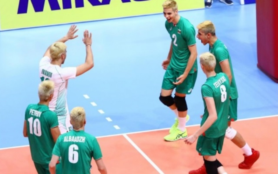 Нов успех за волейболните юноши на Европейското в Турция