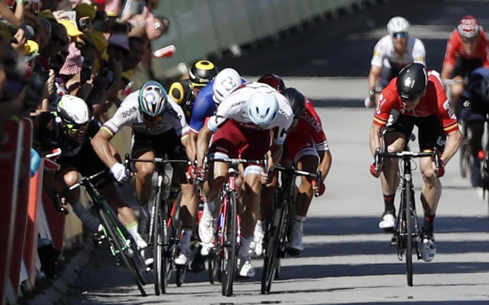 Саган взе петия етап в Тур дьо Франс