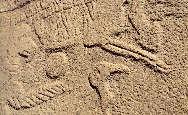 Гьобекли тепе - животински мотиви по колоните
