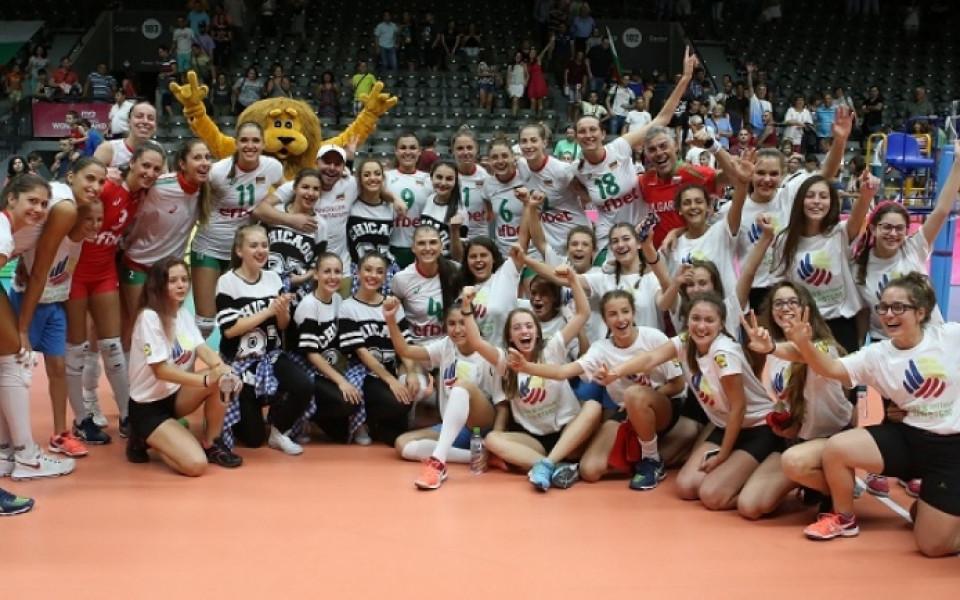 Волейболните националки: Публиката в Русе е страхотна