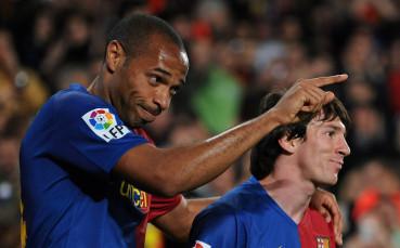 От кого се е притеснявал Меси в Барселона