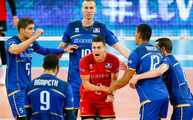 Национален отбор по волейбол на Франция<strong> източник: Gulliver/Getty Images</strong>
