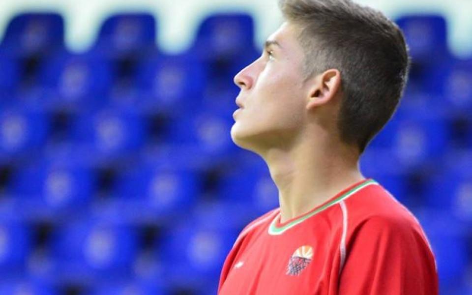 Младок от Реал се присъедини към лагера на баскетболните кадети