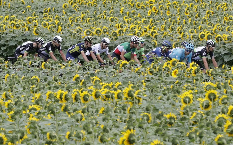 по време на Тур дьо Франс