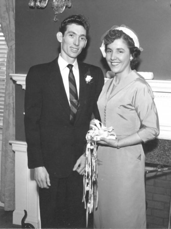 - 1952 г.: Сватбеният ден на Руби и Херълд.