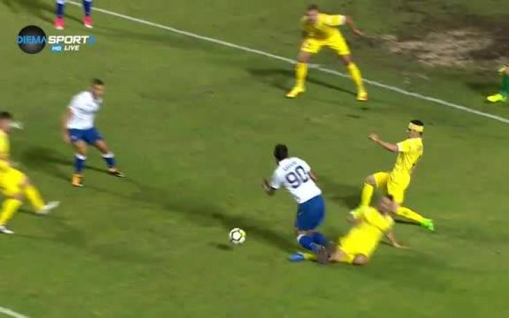 Хайдук поведе на Левски след безумно направена дузпа