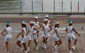 Страхотно изпълнение на дъщерята на Петър Мерков за откриването на Европейското първенство по кану-каяк