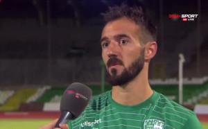 Играчът на мача Виданов: Много напрежение, имаше много брак