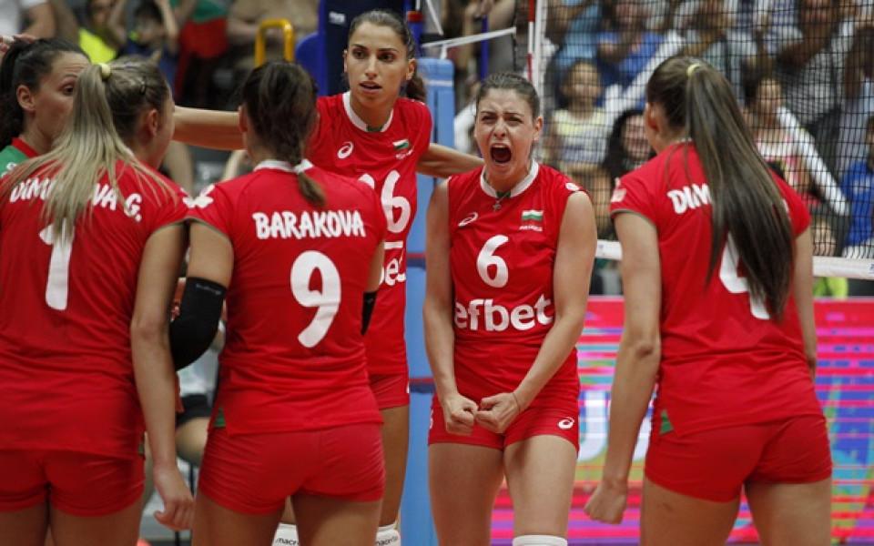 Драматична загуба за волейболистките срещу Чехия в Пуерто Рико
