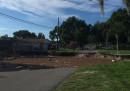 Дупка погълна за минути две къщи във Флорида (видео)
