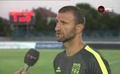 Костадин Ангелов: Няма от какво да ни е срам в този мач
