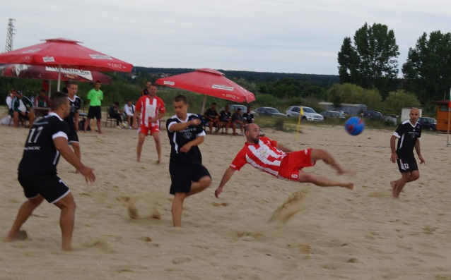 плажен футбол източник: личен архив