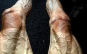 Полски колоездач разбуни духовете със снимка на краката си