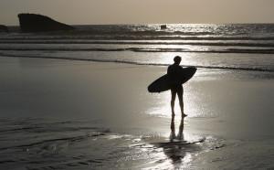 Голяма бяла акула вся смут на Световната сърф лига