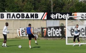 Вратар поднови тренировки с Локо Пловдив