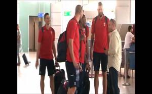 Баскетболистите заминаха за Австрия, Тити ги изпрати