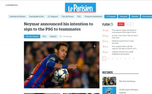 Le Parisien: Неймар каза на Барса, че си тръгва