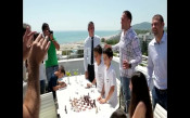 Топалов и братя Пулеви играха шах с млади надежди в Албена