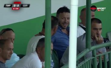 Шефовете на Септември София следят изкъсо отбора